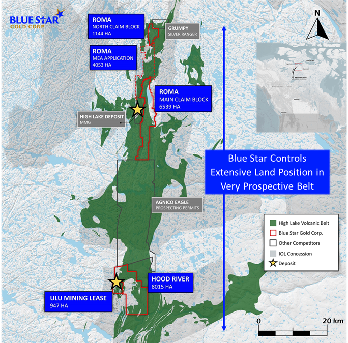 Blue Star Gold commences high-resolution geophysical survey in preparation for drill testing priority targets on its Ulu and Hood River projects