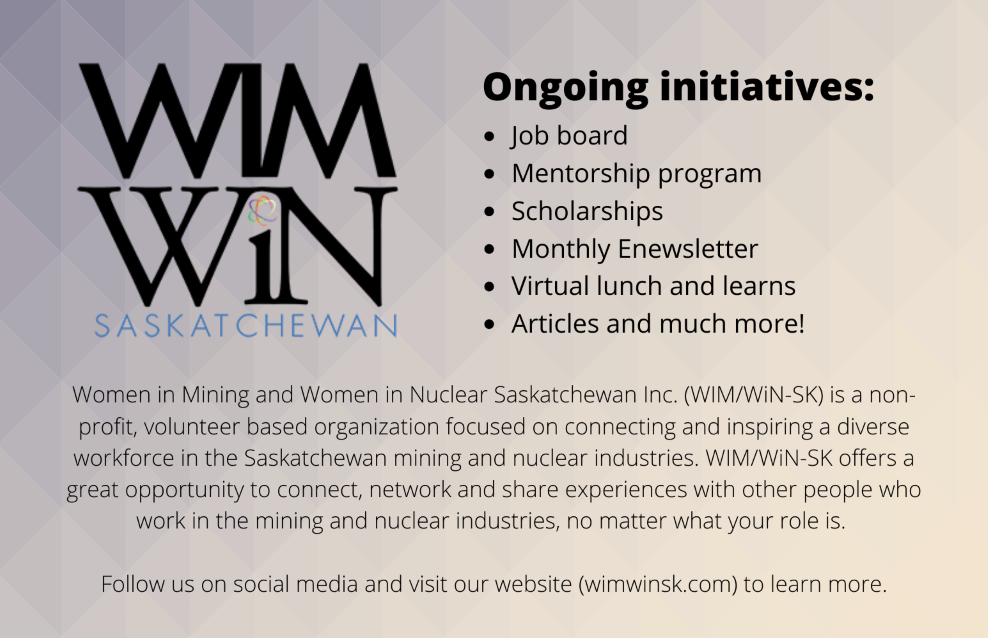 Our story: Women in Mining and Women in Nuclear Saskatchewan
